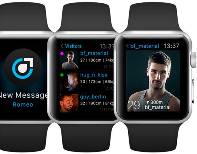 Planet Romeo, la primera app gay de contactos para Apple Watch