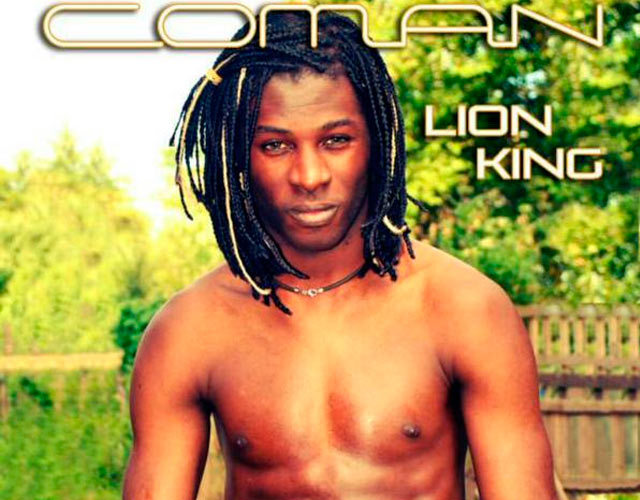 Coman desnudo en la portada de su single 'Lion King'