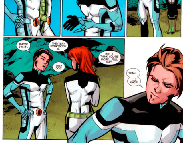 Uno de los X-Men gay: Iceman sale del armario