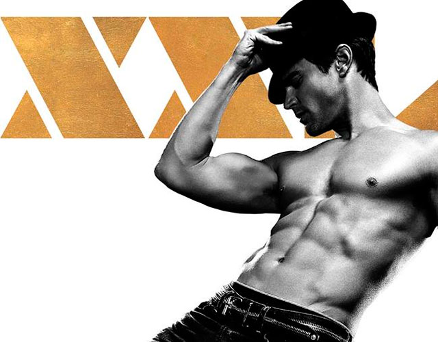 Pósters de 'Magic Mike XXL' con Matt Bomer o Channing Tatum sin camiseta