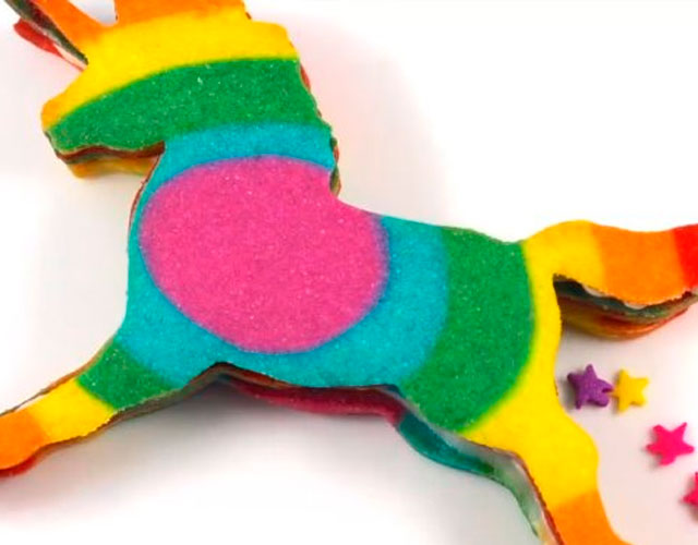 Unicornio gay cookie