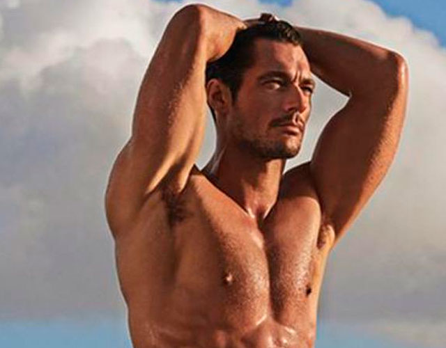 David Gandy desnudo y espectacular para Marks & Spencer