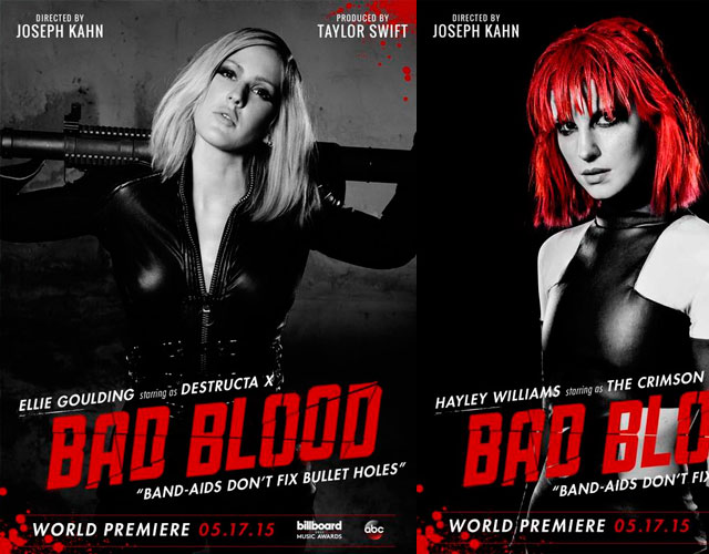 Ellie Goulding, Hayley Williams, Zendaya y más en el vídeo de 'Bad Blood' de Taylor Swift