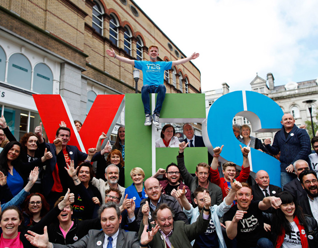 Matrimonio Gay In Usa : Irlanda aprueba el matrimonio gay con mayoría cromosomax