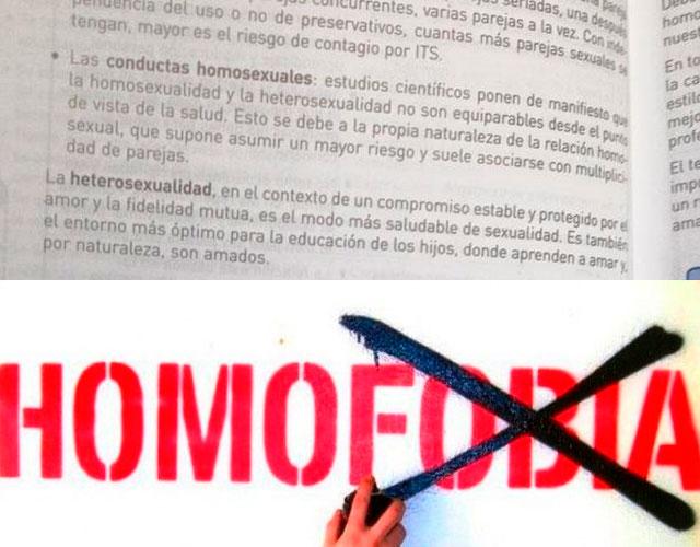 El texto homófobo de un libro de biología de 3º de la ESO | CromosomaX