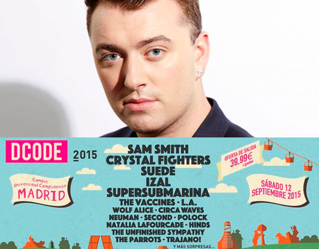 Sam Smith, Crystal Fighters o Suede, entre los primeros confirmados del DCODE Festival 2015