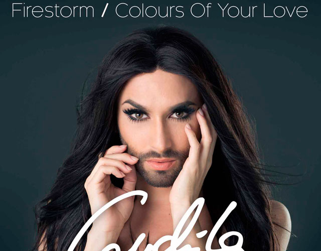 Conchita Wurst lanza 'Firestorm' y 'Colours Of Your Love' como nuevos singles