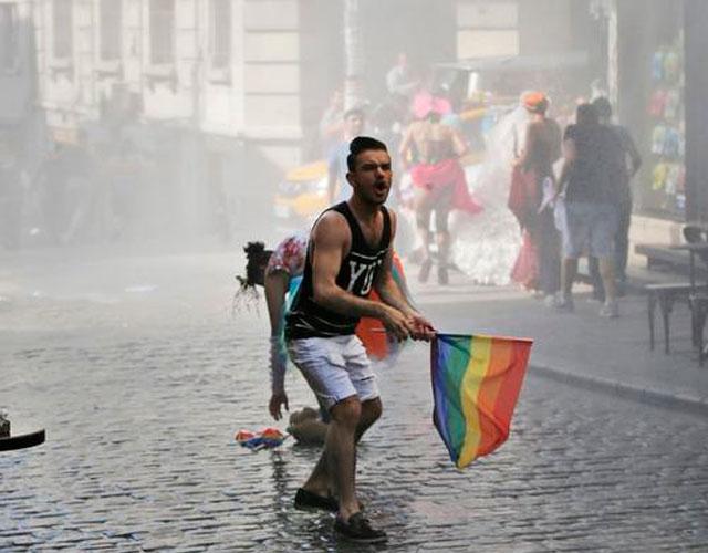 Sexo gay en camiones