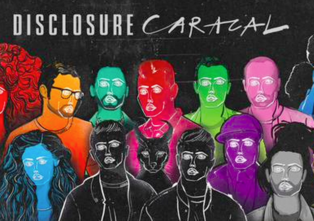 Lorde, Miguel y Sam Smith, en el disco de Disclosure