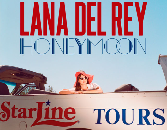 Portada y tracklist de 'Honeymoon' de Lana Del Rey