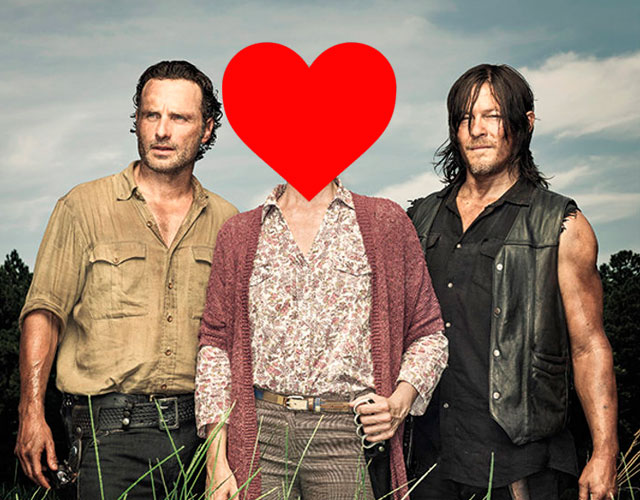 ¿Relación gay en 'The Walking Dead' entre Daryl y Rick?