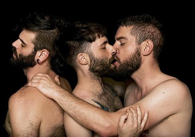 Trio gays viejos
