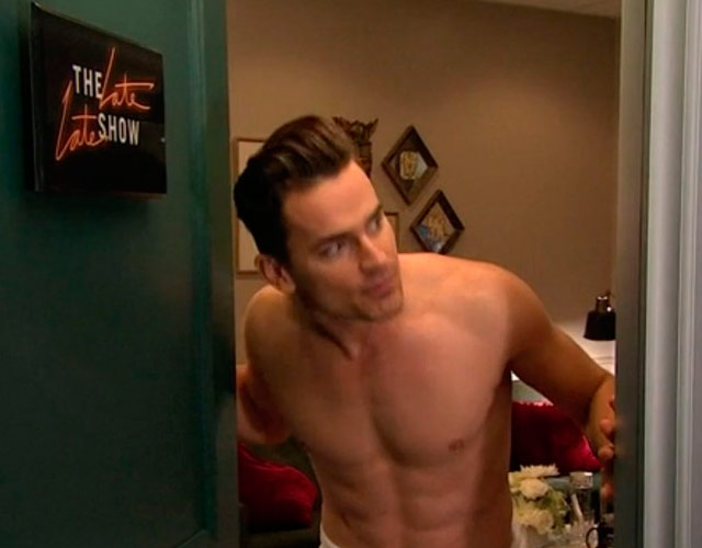 Matt Bomer desnudo en 'The Late Late Show With James Corden'