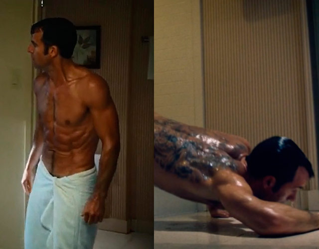 Justin Theroux desnudo en 'The Leftovers', segunda temporada