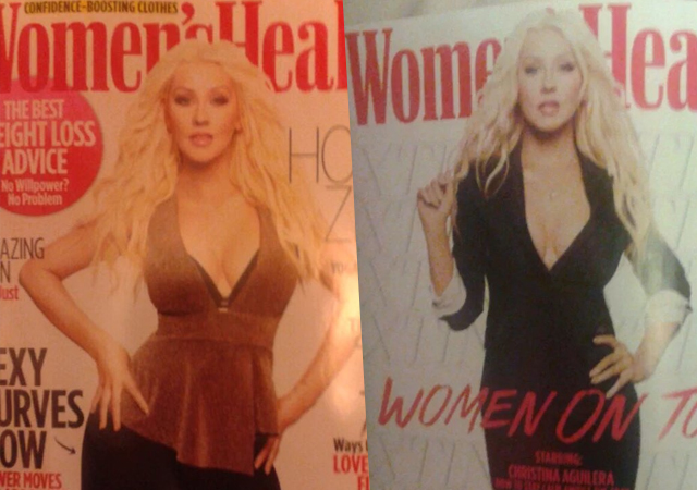 Las fotos de Christina Aguilera para 'Women's Health'
