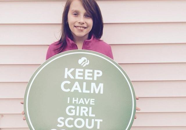 Galletas Girl Scout para las tropas