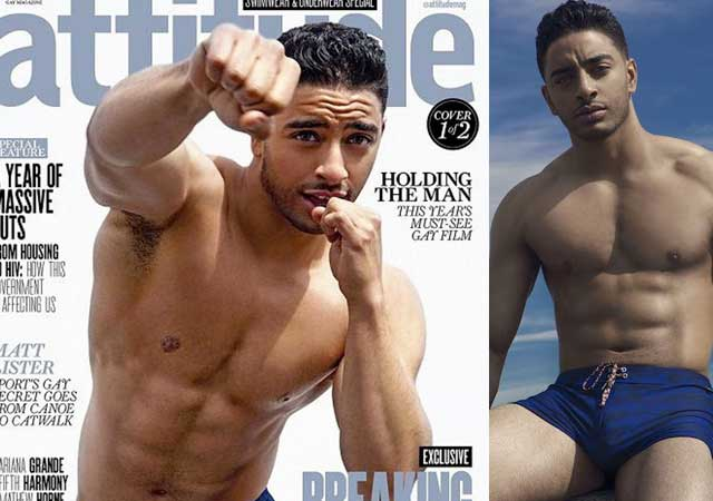 Laith Ashley, transexual y buenorro en portada de 'Attitude'
