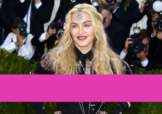 La respuesta de Madonna a las críticas por su vestido en la Met Gala 2016
