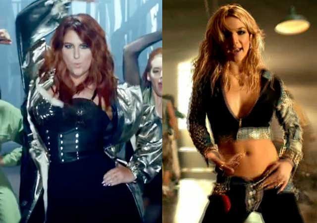 Outrageous X No Britney Spears X Meghan Trainor Youtube Imagezco