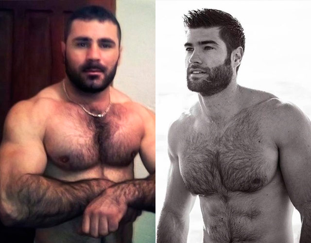 Jordan bridges hairy chest