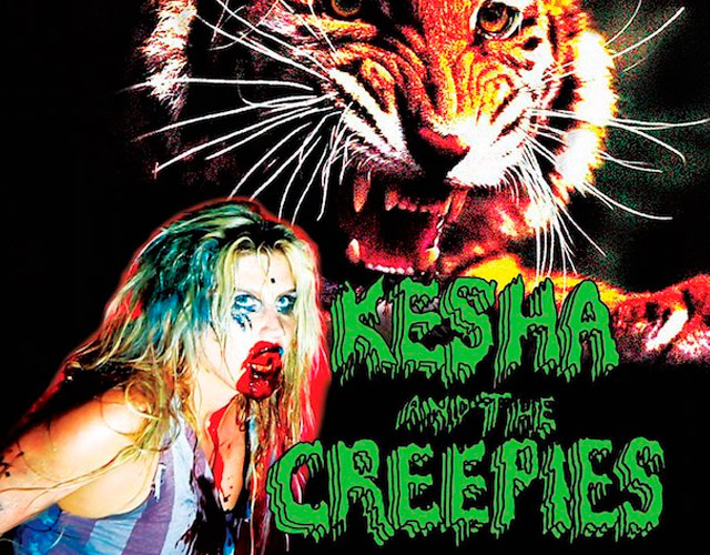 Kesha and The Creepies, el nuevo grupo musical de Kesha, anuncia gira