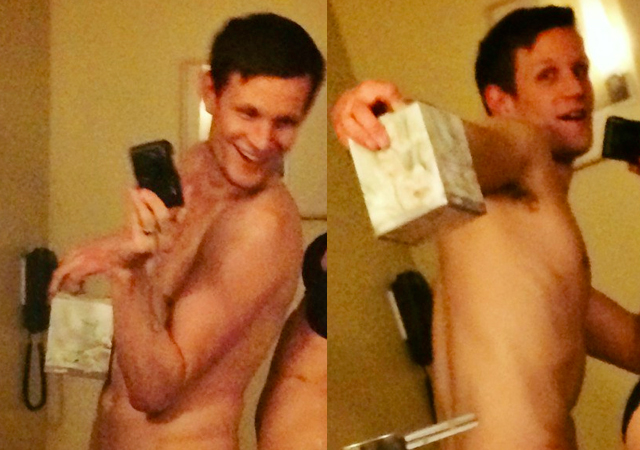Las fotos privadas de Matt Smith desnudo, el actor de 'Dr Who'