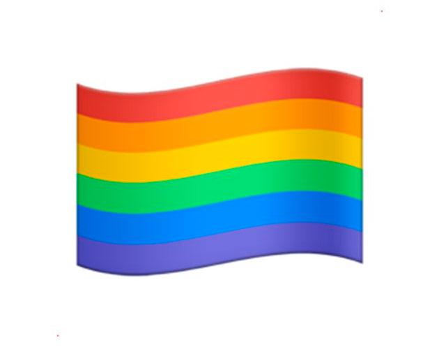 bandera gay en whatsapp