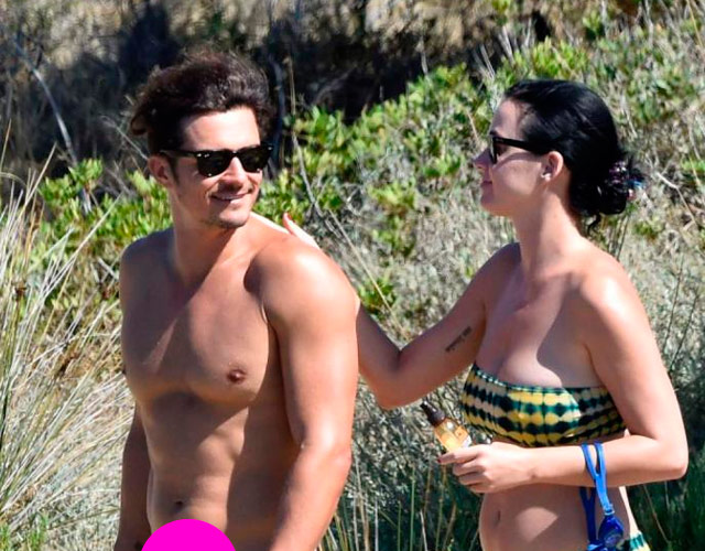 Orlando Bloom desnudo Katy Perry