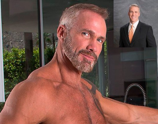 Dallas Steele desnudo: de presentador a actor porno gay