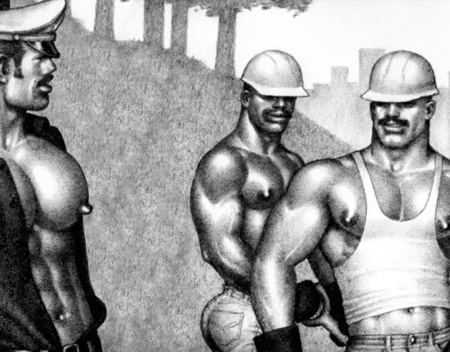 El explícito vídeo animado de Tom of Finland para DJ Hell