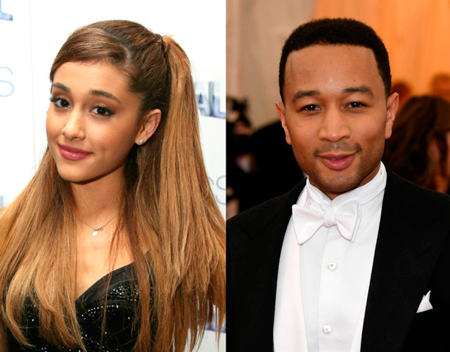 Ariana Grande y John Legend cantan 'Beauty And The Beast'