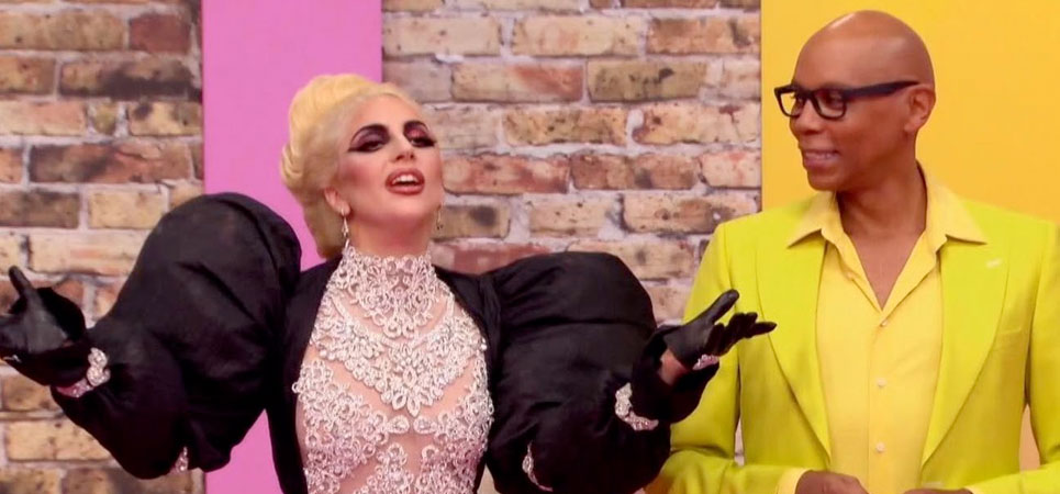 Lady Gaga es una drag queen en 'RuPaul's Drag Race'