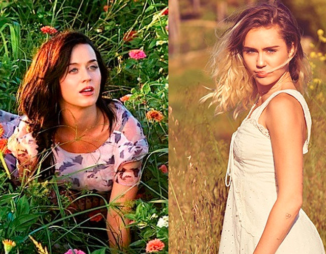 Miley Cyrus dice que 'I Kissed A Girl' de Katy Perry trata sobre ella