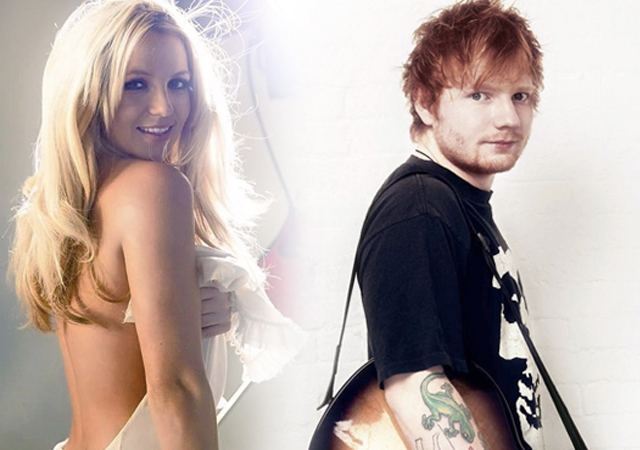Ed Sheeran versiona 'Baby One More Time' de Britney Spears