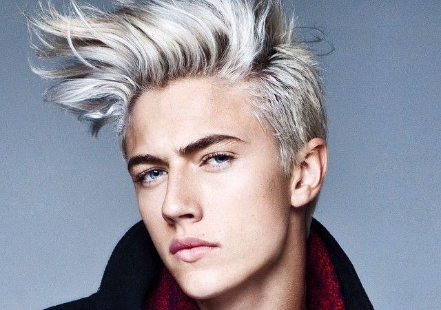 Vuelve el cabello platino como tendencia para hombre