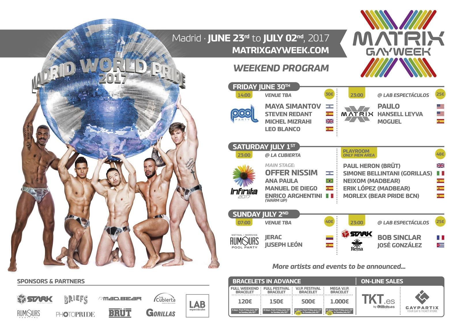 Matrix Gay Week: La madrid más gay estalla en colores en el World Pride