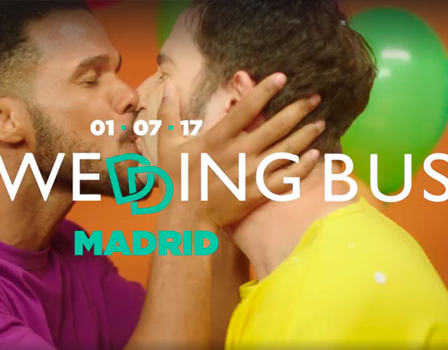"8 parejas se casarán en ""The wedding bus"" de Fox durante la manifestación del World Pride 2017"