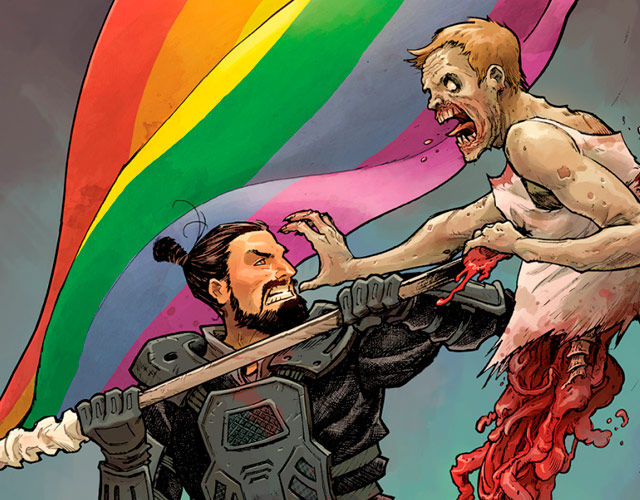 La portada gay de 'The Walking Dead'