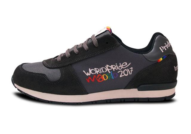 Así son las zapatillas oficiales del World Pride 2017 en Madrid