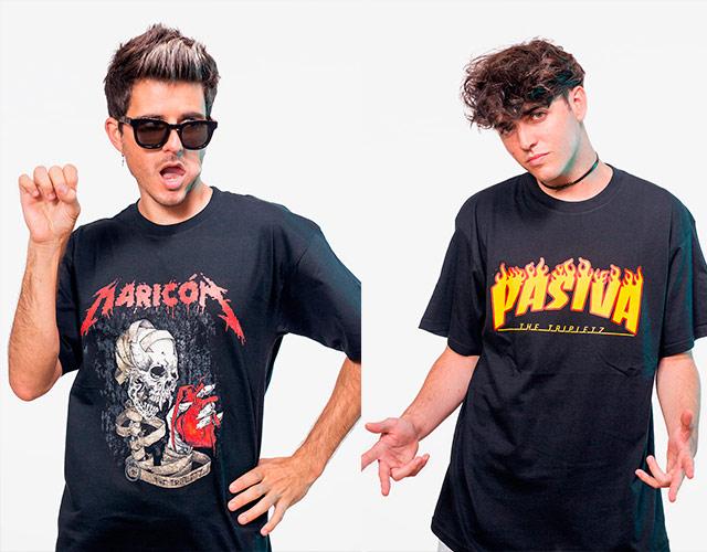 "Las camisetas ""Maricón"", ""Pasiva"" o ""Bollera"" de The Tripletz"