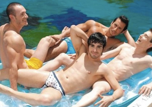 Orgia gay curos