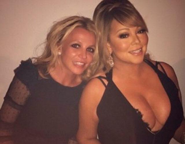 La inesperada foto de Britney Spears y Mariah Carey juntas
