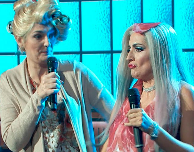 Parodia de Lady Gaga y su madre en 'Late Motiv'