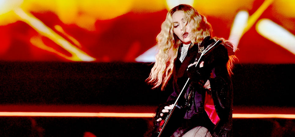 Madonna abandona los estadios y promete giras íntimas