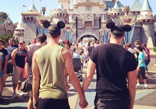 pareja sexual público gay