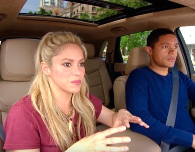 El Carpool Karaoke de Shakira, el primero grabado en España