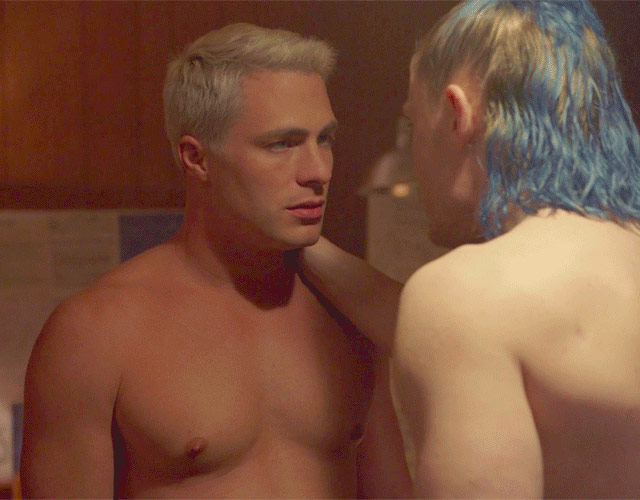 La escena de sexo gay entre Colton Haynes y Evan Peters