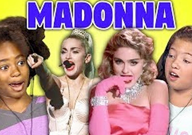 Así reaccionan los niños de hoy ante Madonna