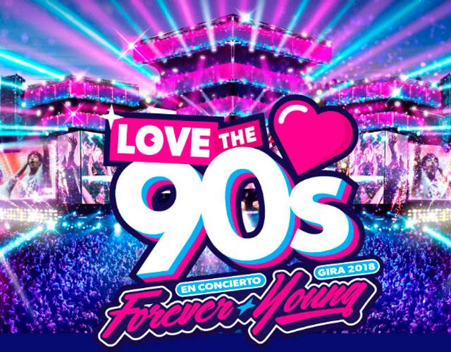 'Love The 90's' vuelve en 2018 con nuevos artistas