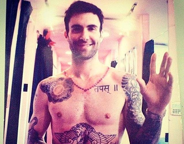 Adam Levine desnudo en Instagram
